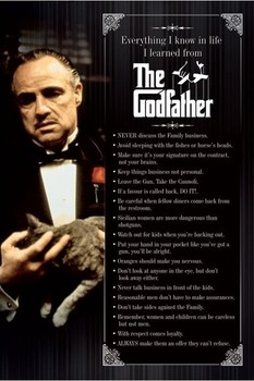 THE GODFATHER - everything i know Poster