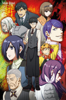 Tokyo Ghoul - Group Affiche