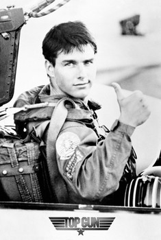 TOP GUN - Tom Cruise  Poster