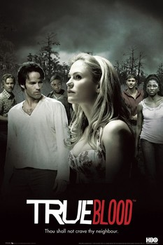 TRUE BLOOD - montage Affiche