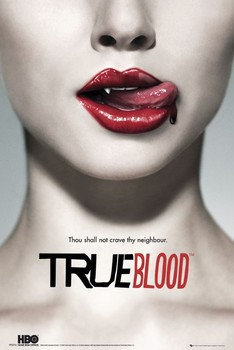 TRUE BLOOD - teaser Affiche