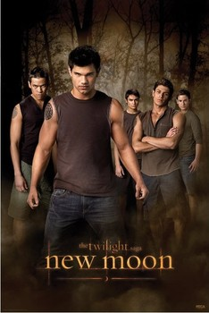 TWILIGHT NEW MOON - wolf pack Poster