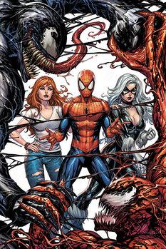 Venom - Venom and Carnage fight Poster