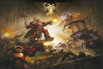 Warhammer 40K - The Battle of Baal Poster