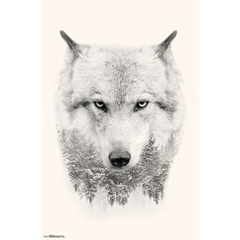Wolf Trees Poster