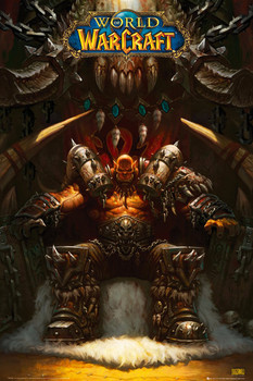 World of Warcraft - garrosh Poster