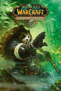World of Warcraft - pandaria Poster