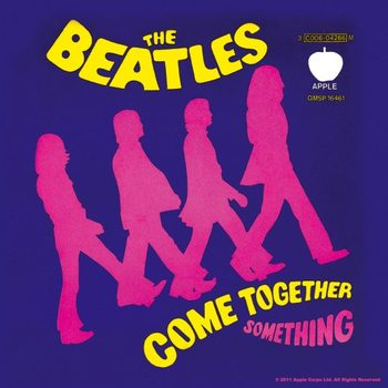 The Beatles – Come Together/Something Purple alátét
