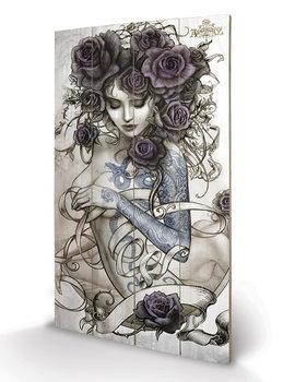 Bild auf Holz Alchemy - Les Belles Dames de la Rose