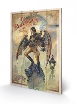 Poster su legno ALCHEMY - the black baron