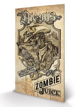 Bild auf Holz Alchemy - Zombie Juice