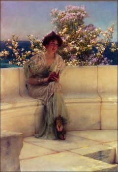 Alma-Tadema - The Year´s At The Spring Festmény reprodukció
