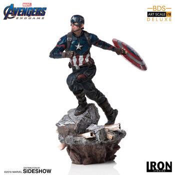 Figurine Avengers: Endgame - Captain America (Deluxe)