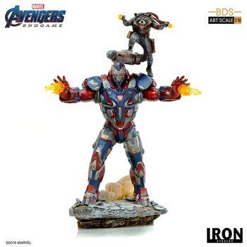 Figurine Avengers: Endgame - Iron Patriot & Rocket