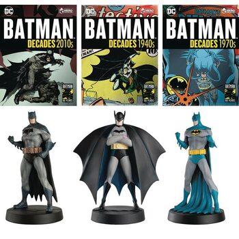 Figurine Batman Decades - Debut, 1970, 2010 (Set of 3)