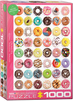 Puzzle Donuts Tops - Sweet Collection