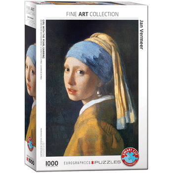 Puzzle Jan Vermeer - Girl with the Pearl Earring