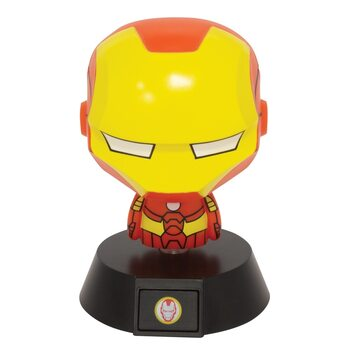 Figurină fosforescente Marvel - Iron Man