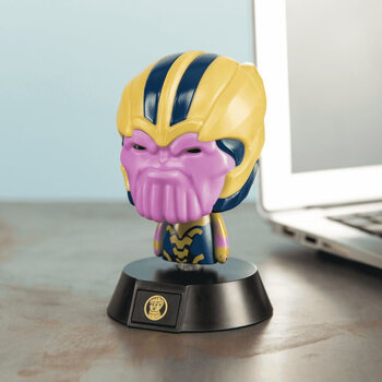Figurină fosforescente Marvel - Thanos