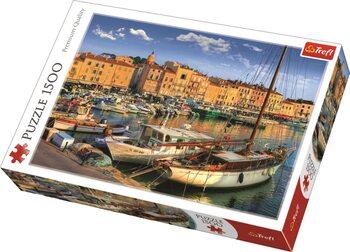 Puzzle Old Port in Saint-Tropez
