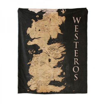 Pătură Game of Thrones - Westeros Map