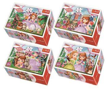 Puzzle Princess Sofia 4in1