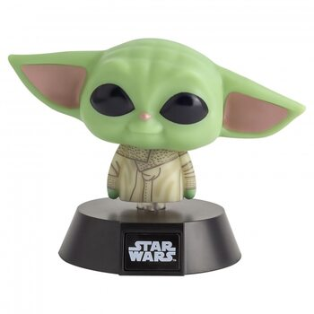 Figurină fosforescente Star Wars: The Mandalorian - The Child (Baby Yoda)