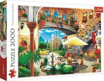 Puzzle Vista of Barcelona