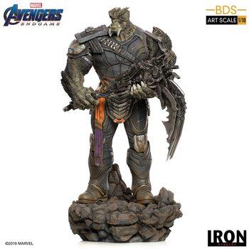 Statuetta Avengers: Endgame - Black Order Cull Obsidian