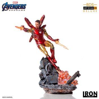Statuetta Avengers: Endgame - Iron Man Mark LXXXV (Deluxe)