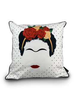 Cuscino Frida Kahlo - Minimalist Head
