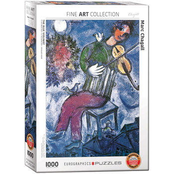 Puzzle Marc Chagall - The Blue Violinist