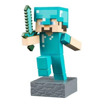 Statuetta Minecraft - Diamond Steve Adventure
