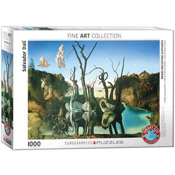 Puzzle Salvador Dalí - Swans Reflecting Elephants
