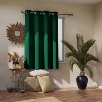 Gardin Amelia Home - Blackout Dark Green 1 st