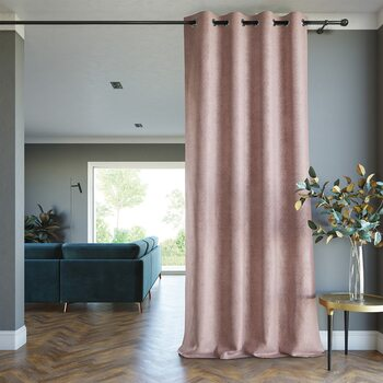 Zavjesa Amelia Home - Blackout Lamari Blush 1 kom