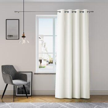Κουρτίνα Amelia Home - Eyelets White 1 τεμ