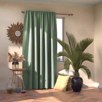Κουρτίνα Amelia Home - Pleat Mint 1 τεμ