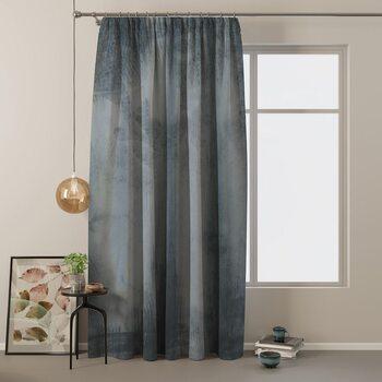 Κουρτίνα Amelia Home - Velvet Charcoal 1 τεμ
