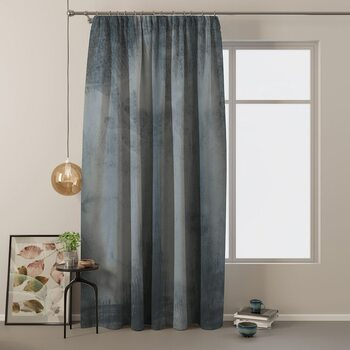 Tenda Amelia Home - Velvet Charcoal 1 pc