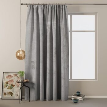 Gordijn Amelia Home - Velvet Silver 1 pc