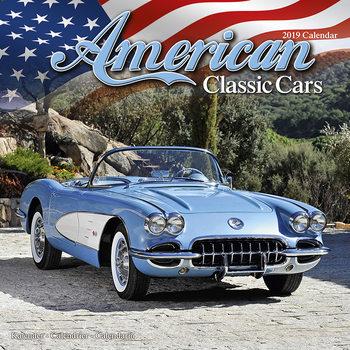 Ημερολόγιο 2019  American Classic Cars