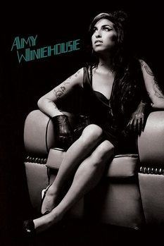 Amy Winehouse - Chair - плакат (poster)