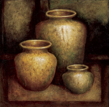 Ancient Treasures Festmény reprodukció