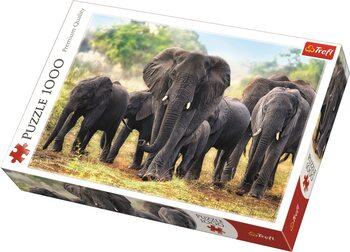 Puzzle African Elephants