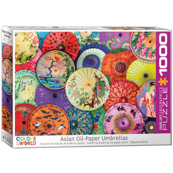 Puzzle Asian Oil Paper Umbrellas