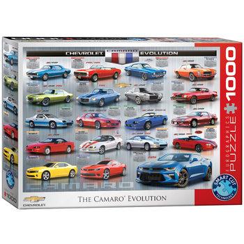 Puzzle Chevrolet The Camaro Evolution