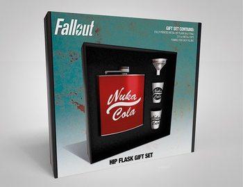 Heupfles: Cadeau set Fallout - Nuka Cola