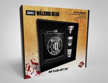 Heupfles: Cadeau set The Walking Dead - Walker Hunter