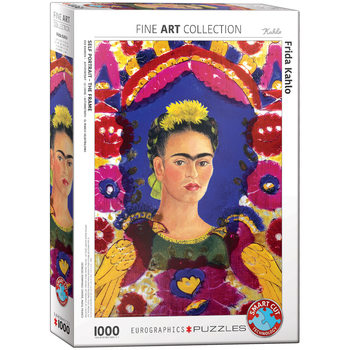 Puzzle Kahlo Self Portrait with Birds